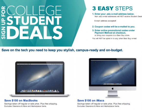 Smart Buy: Students Can Save $$$ On New Macs At Best Buy