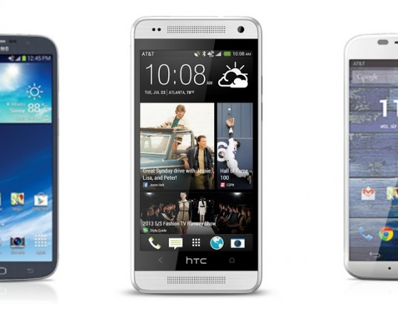 The HTC One Mini, Moto X, & Samsung Galaxy Mega Are Now Available For AT&T