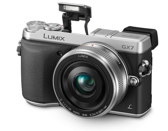 Panasonic Announces Its Retro-Styled, 16MP LUMIX GX7 Mirrorless Camera (Video)