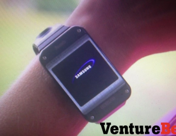 The Samsung Galaxy Gear Smart Watch Says Hello Ahead Of Its Announcement
