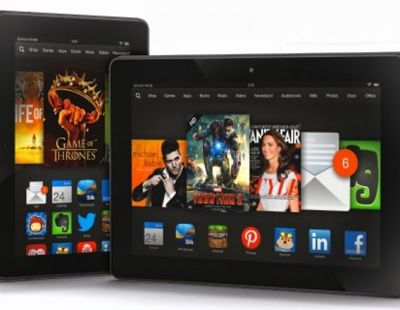 Amazon Reveals Their New Tablets: The 7inch + 8.9inch Kindle Fire HDX