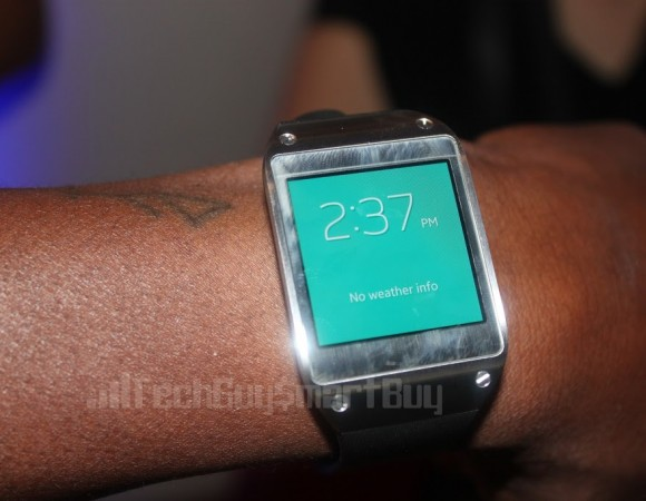 Hands-On: Samsung Galaxy Gear Smart Watch (Video)