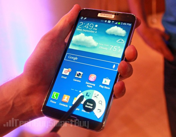 Hands-On: Samsung Galaxy Note 3 (Video)