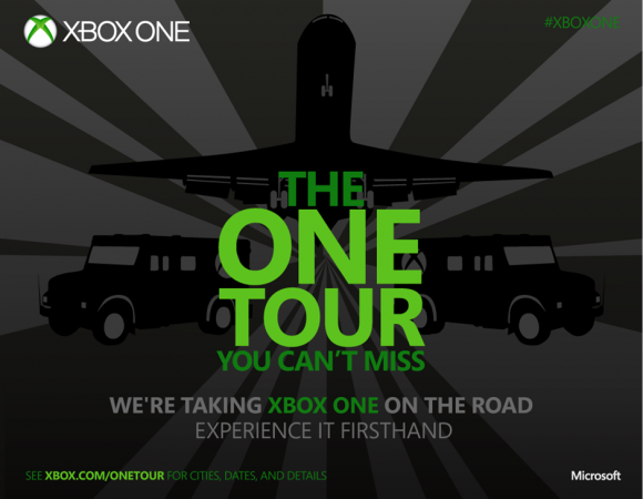 The Xbox One is Going On A 75-City Demo Tour, Is Your Town One Of The Stops?