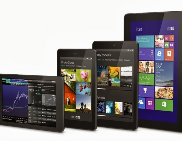 Dell Reveals Not One Or Two But 4 New Venue Tablets, 2 Running Android & 2 Running Windows