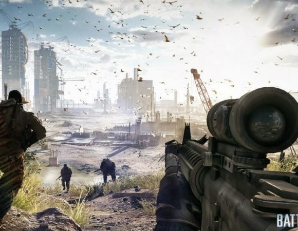 Battlefield 4 Gets A New Trailer For Campaign Mode (Video)