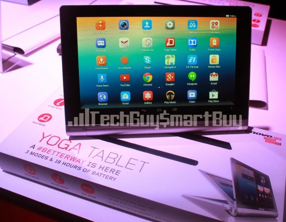 Lenovo Yoga Tablet Creating A Better Way (First Impressions) (Video)