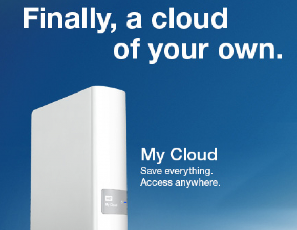 Western Digital Sets You Up With Personal Cloud Storage