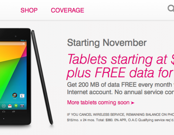 T-Mobile Offers The New iPads For $0 Down And 200MB Of LTE Data Monthly For Free