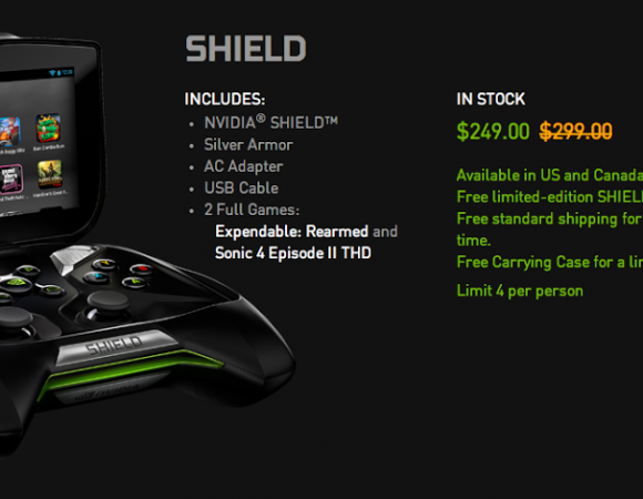 Black Friday Smart Buy: Get The NVIDIA Shield Bundle For $249 + Free Shipping