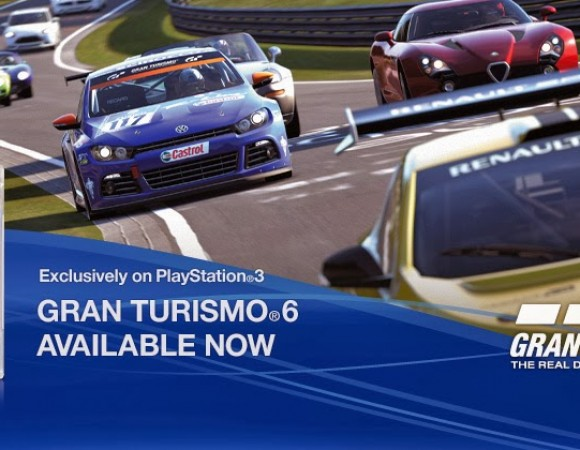 Gran Turismo 6 Arrives For The PS3 Today