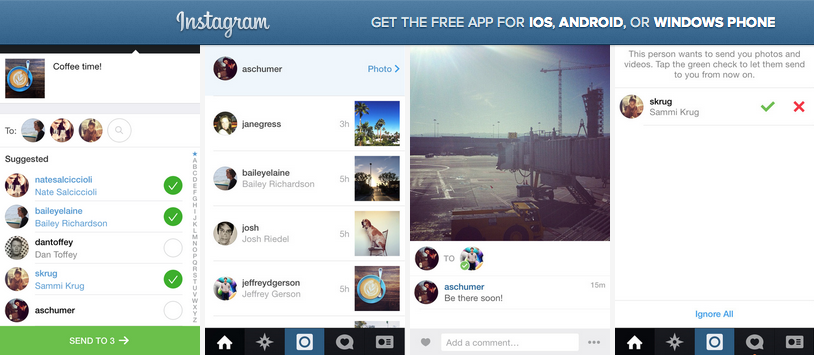 Private Messaging Comes To Instagram w/ Instagram Direct (Video) –