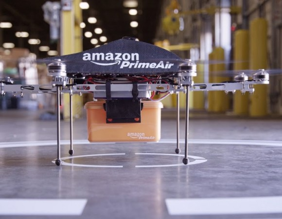 Amazon Unveils The Future Of Delivery w/ The Drone-Powered Prime Air (Video)