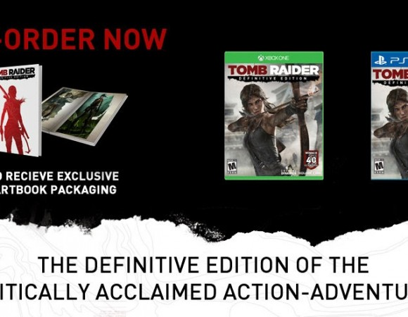 Lara Croft Is Coming To The PS4 + Xbox One On 1/28 In Tomb Raider: Definitive Edition (Video)