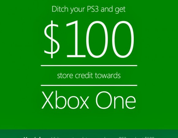 Microsoft Is Now Giving You $100 Credit Towards An Xbox One When You Trade In Your Old Console