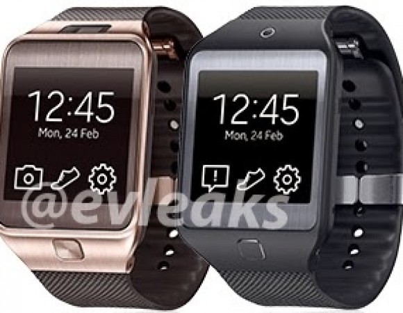 Photos Of Not 1 But 2 New Galaxy Gear Smartwatches Emerge