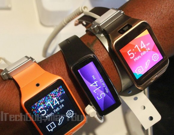 Hands-On: Samsung Galaxy Gear 2, Gear 2 Neo + Gear Fit (Video)