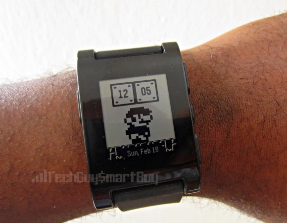 Our 1st Look At Pebble's New Color Smartwatch