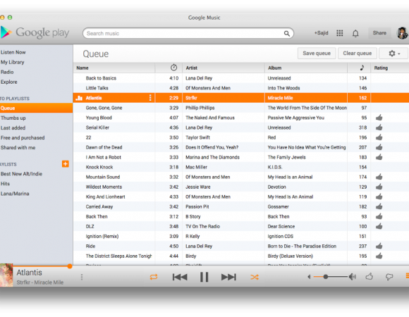 Third-Party Google Play Music App Now Available For The Mac