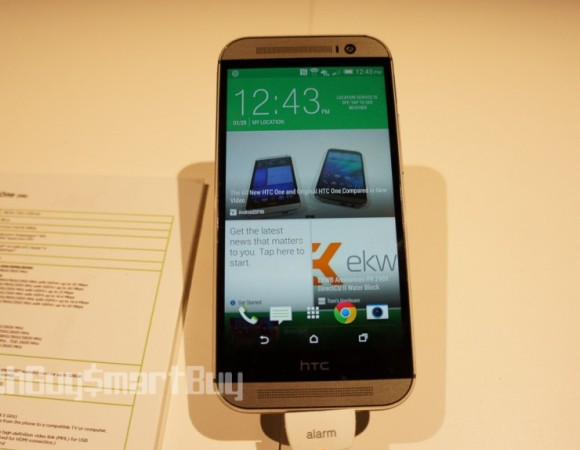 Hands-On: HTC One M8 (Video)