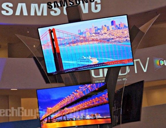 Meet Samsung's New 2014 Line Of UHD 4K TVs Starting At $2,500 (Video)