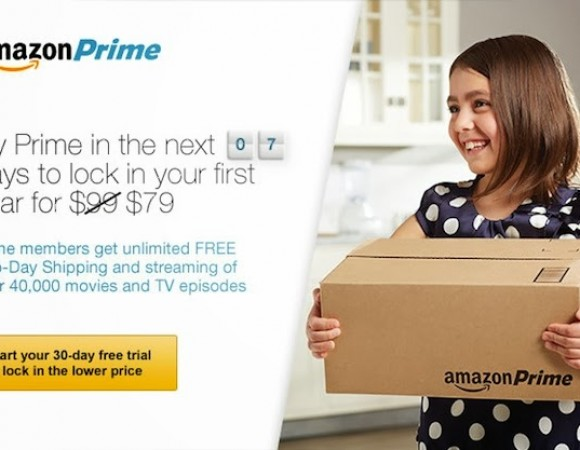 The Price For Amazon Prime Is Going From $79 To $99, Starting 4/17