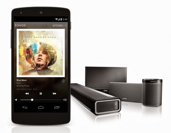 Sonos Adds Google Music Support To Its Services (Video)