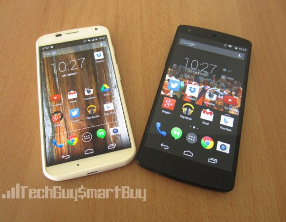 Moto X Vs. Nexus 5: Battle Of The Android Purists
