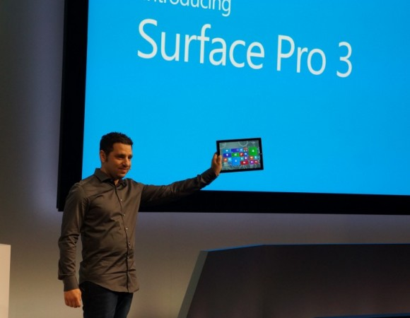 Hands-On: Microsoft Surface Pro 3 (Video)
