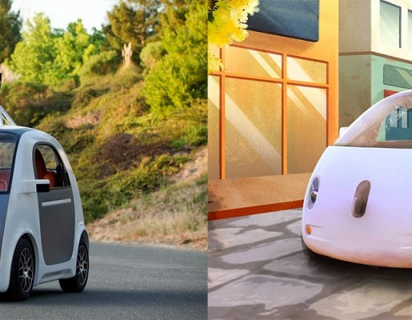 Meet Google's 1st Self-Driving Car: Coming Soon To A Road Near You (Video)