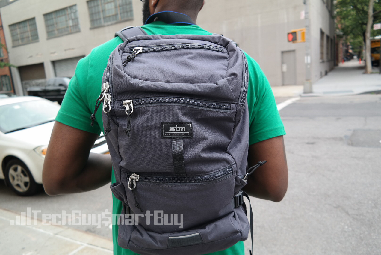 Review Stm Bags Drifter Backpack Video Techguysmartbuy