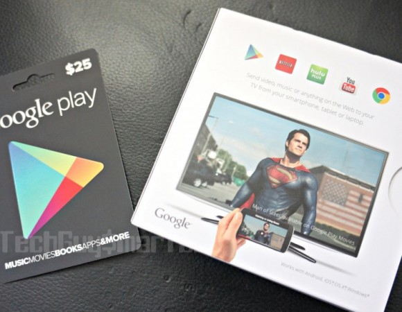 Giveaway:  Win A Free Chromecast + $25 Google Play Gift Card On Us (Update: It's Done)