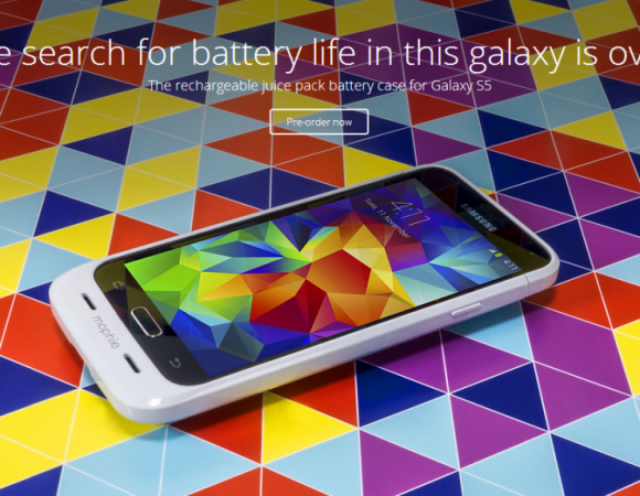 Mophie's Juice Pack Is Coming To The Samsung Galaxy S5 Next Month For $99 (Video)