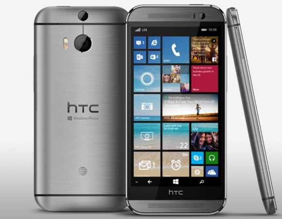 The New HTC One M8 For Windows Is Coming To AT&T As Well