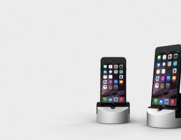 Meet Henge Dock: A Solid Charging Dock/Stand For Your New iPhone 6 Or 6 Plus