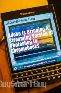 The Silver Edition BlackBerry Passport Seen Running Android (Video)