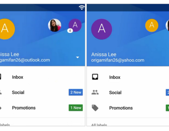 Our First Look At The New Gmail App, Now Supporting Yahoo + Outlook Accounts (Video)