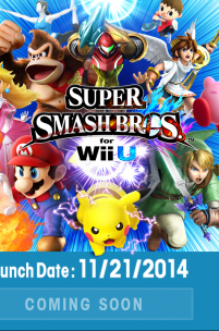 Super Smash Bros Lands On The Wii U On November 21st