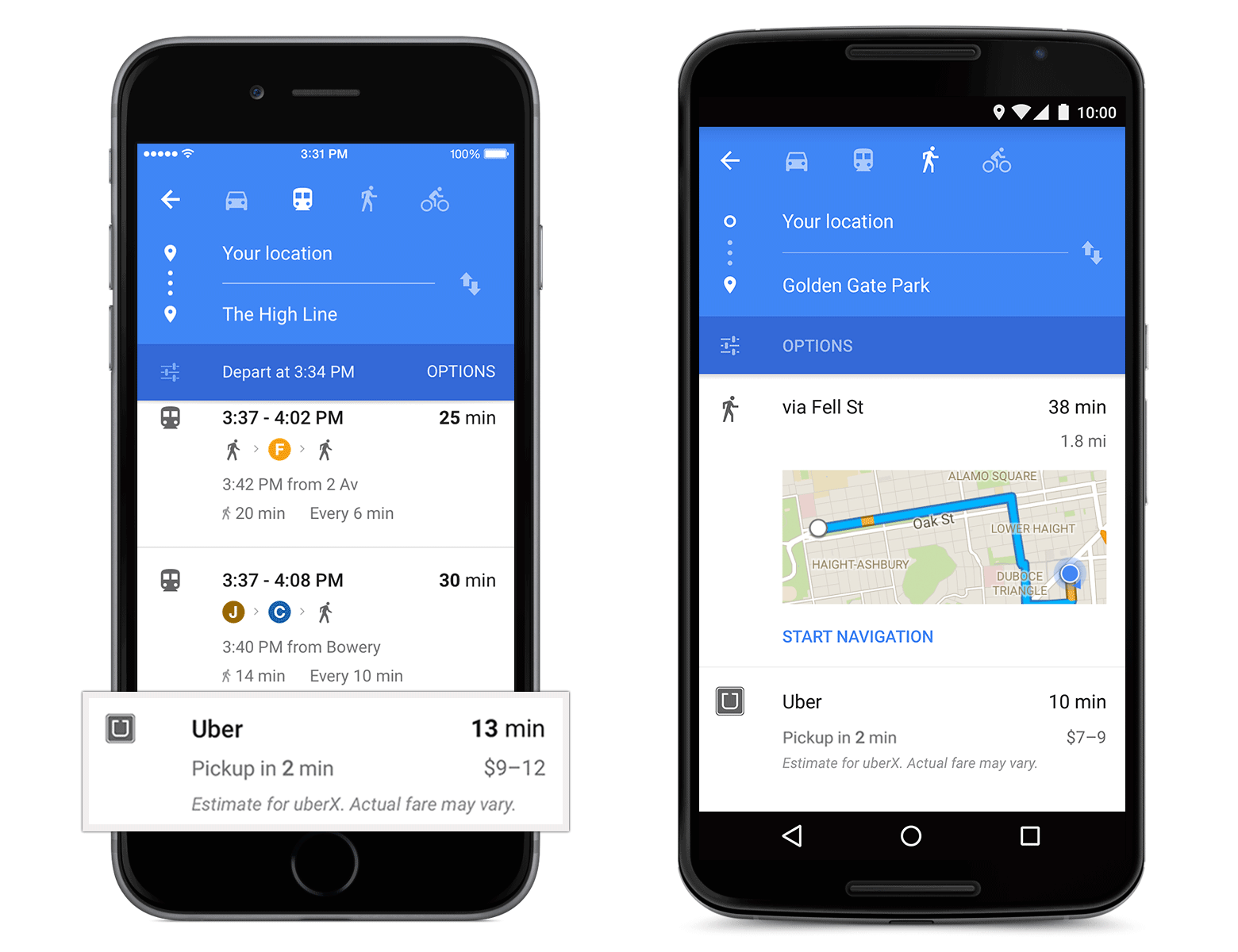 Google Maps Gets Updated To Material Design Now W OpenTable Uber - Open table app for android