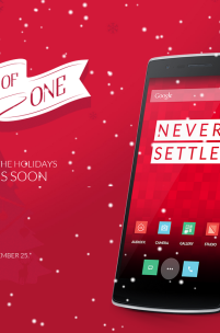 From Now Until Christmas, Grab A OnePlus One w/o An Invite