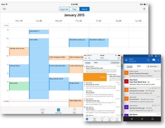Outlook Finally Arrives On The Mobile Front For Android + iOS (Video)