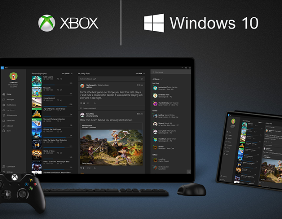 Introducing Xbox Play Anywhere: Buy Once & Play On PC & Xbox One #E32016