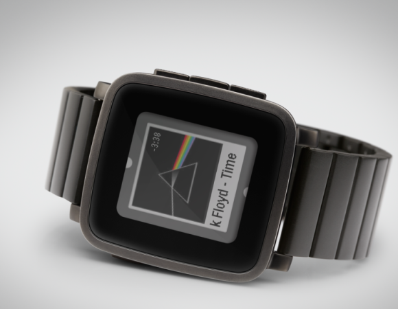 Pebble Unveils Their New Premium Watch w/ Pebble Time Steel (Video)