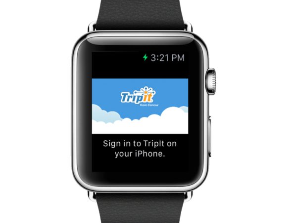 TripIt Arrives For The Apple Watch