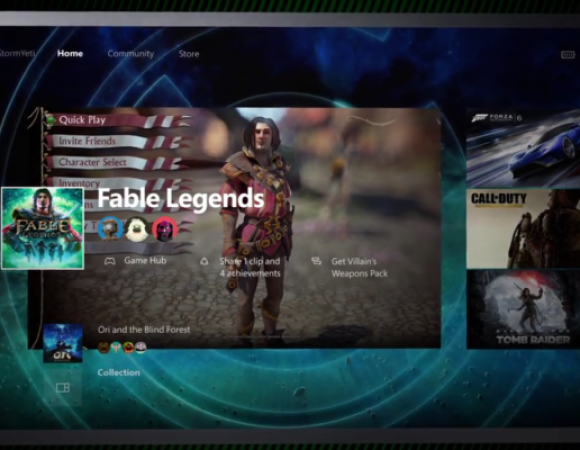 Say Hello To Cortana & Goodbye To Tiles In The Xbox One Dashboard