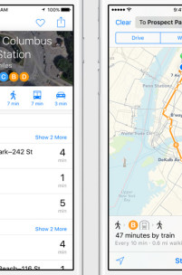 Apple Maps Finally Gets Public Transit Support