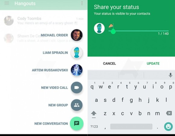 Hangouts For Android Is Getting A Much-Needed UI Update Soon