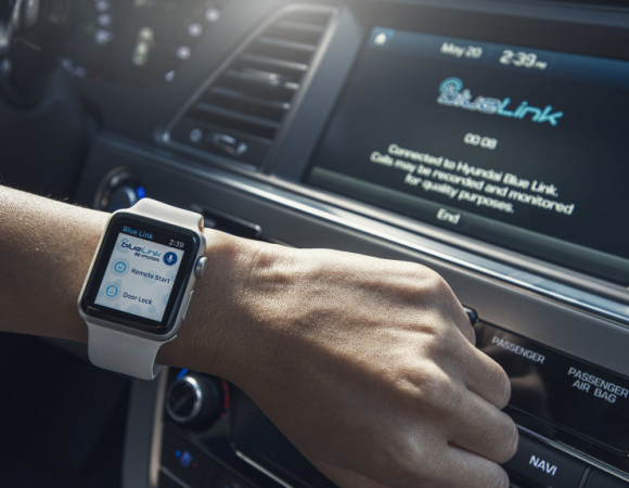 You Can Now Control Your Hyundai w/ The Apple Watch