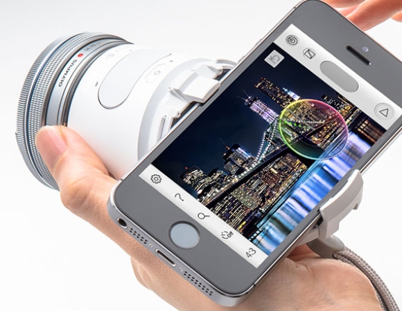 Take Even Better Photos On Your Smartphone w/ The Olympus Air A01 Lens