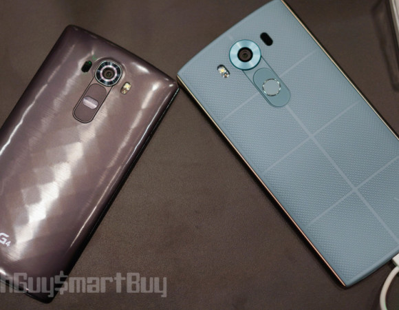 Meet The LG V10: A Device w/ 2x The Displays & Selfie Cameras (Video)